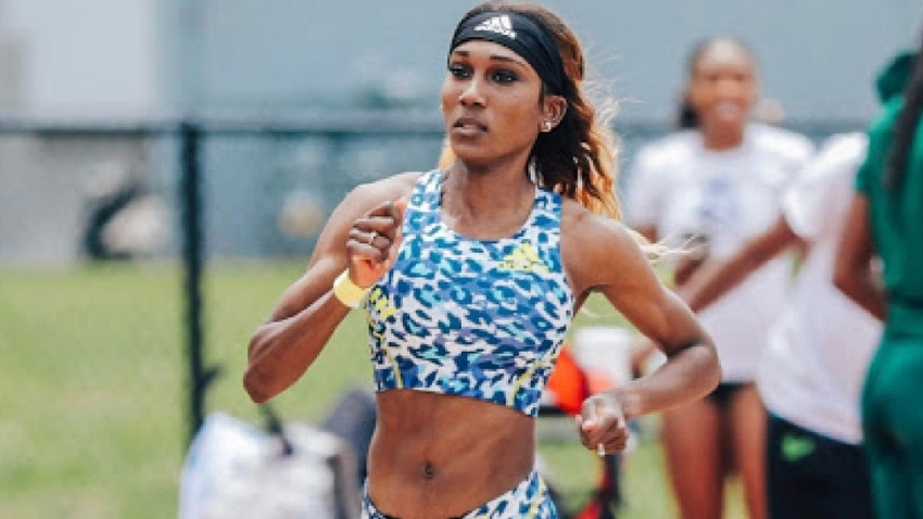 'I am happy about where I am', says Natoya Goule after second fast 400m in as many weeks