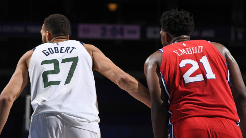 Embiid shows no fear as Sixers get better of Gobert and Jazz