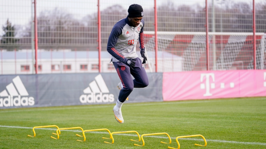 Davies back in full Bayern training as Kimmich steps up individual programme