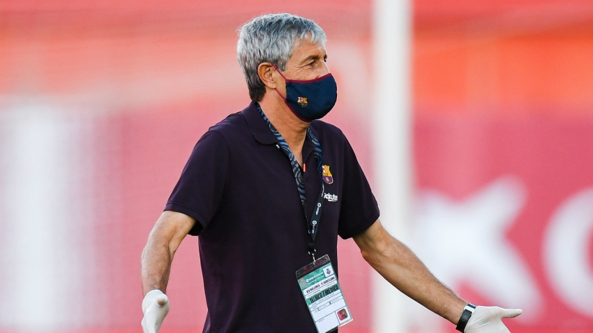Setien expects to remain as Barca coach next season