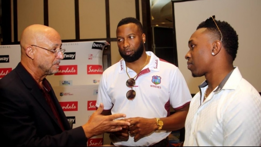 CWI President Ricky Skerritt welcomes the return of Dwayne Bravo