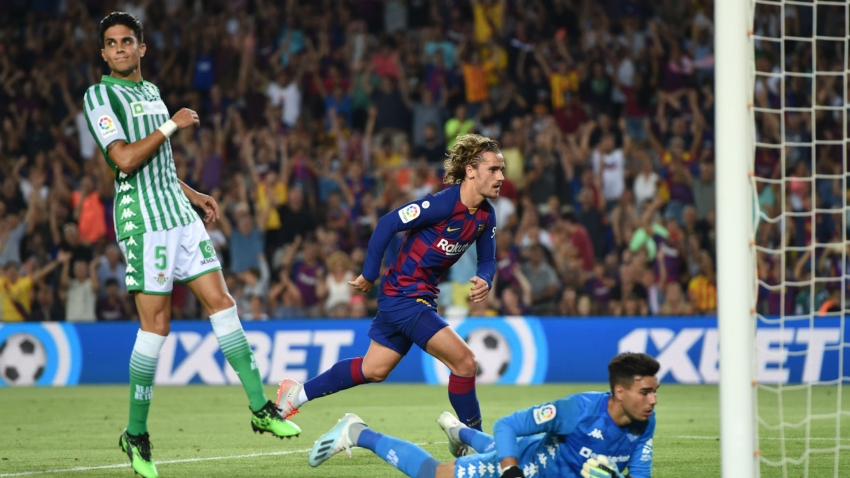 Barcelona 5-2 Real Betis: Griezmann double lights up Camp Nou