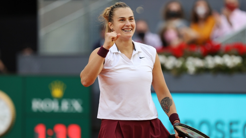 Sablenka beats Barty to win Madrid Open