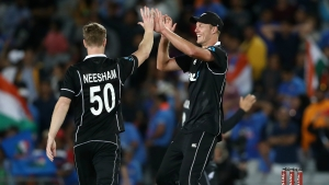 New Zealand fend off Jadeja and Saini assault to clinch ODI series victory