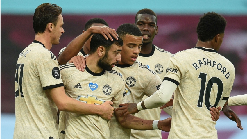Manchester United complete record 'week of wins' over Villa