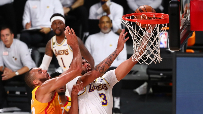 Anthony Davis says sealing West's top spot had been 'a long time coming for the Laker Nation'