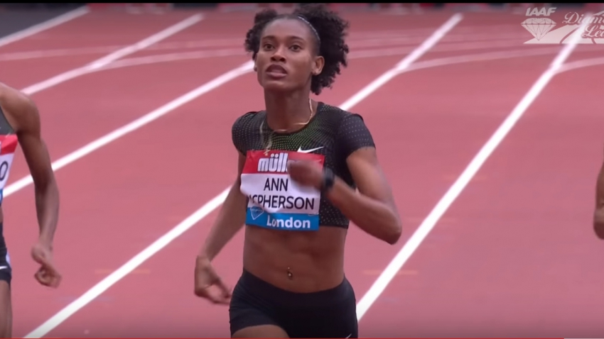 Dominant McPherson takes 400m crown at London Diamond League