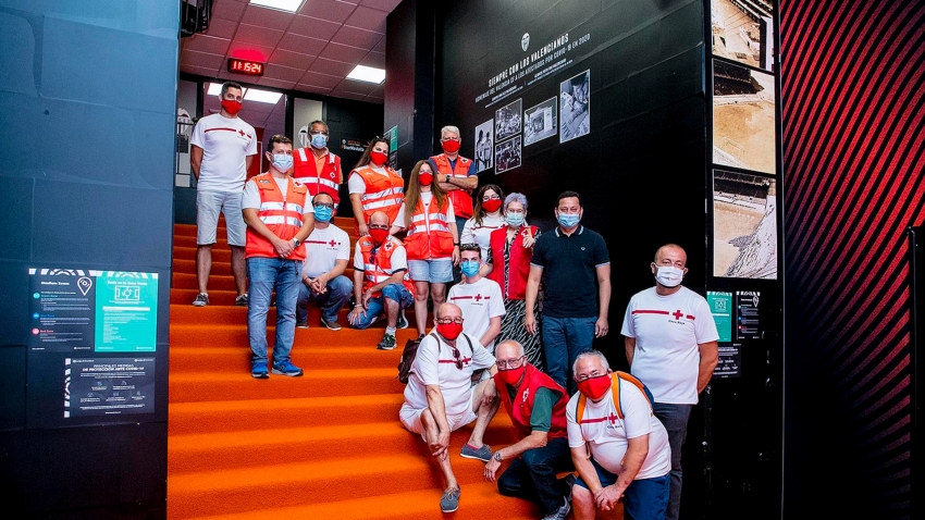 Valencia unveil first-of-its-kind 'Memorial Wall' in Mestalla tunnel in tribute to coronavirus victims