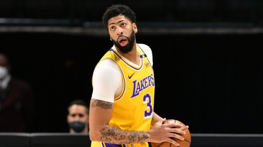 Lakers' coach Frank Vogel expected 'rust' on Anthony Davis return