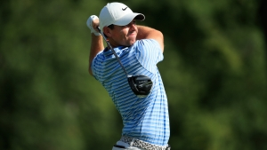 McIlroy shares lead as Tiger struggles at BMW Championship