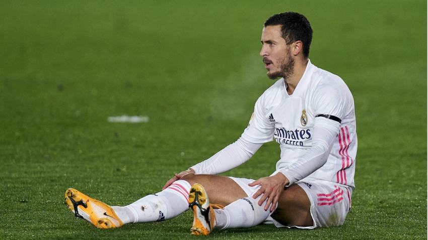 Hazard injury woes return as Real Madrid star hobbles out of LaLiga clash