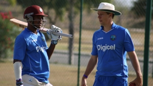 Windies Under-19 head coach, Graeme West