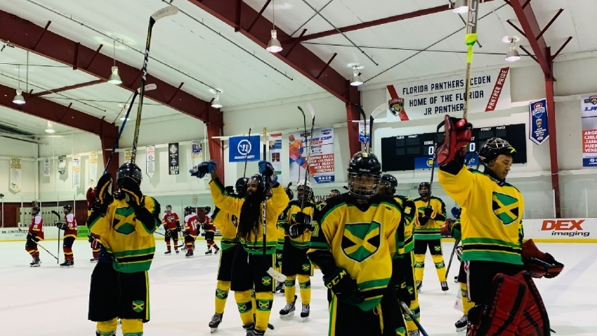 High praise for Jamaica's history-making, trophy-winning ice hockey team
