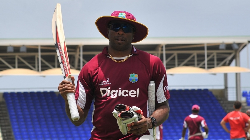 Windies captain Kieron Pollard.