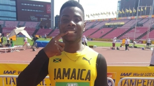 Jamaica's Michael Stephens was the fastest Caribbean athlete advancing to Wednesday's semis of the 100m at the IAAF World Under 20 Championships in Finland.