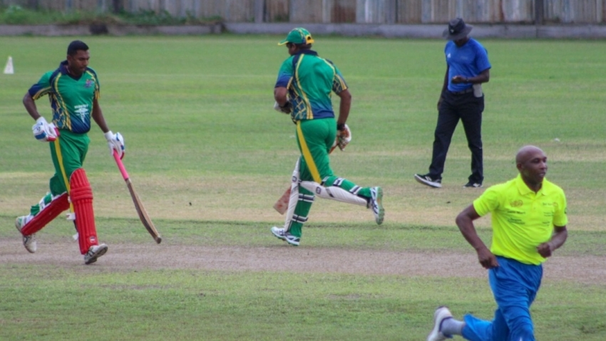 Jai Hind and West Berbice pull off impressive wins in GCB Tropical Spring T20 Over 40 tourney