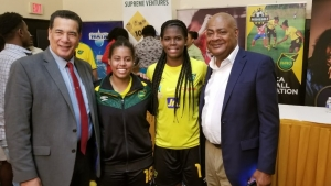 Reggae Girlz to get paid Wednesday but contract negotiations to resume in South Africa