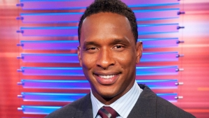 Former goalkeeper turned football pundit Shaka Hislop.