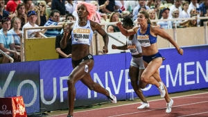 Miller runs season-best 22.09 in Monaco win