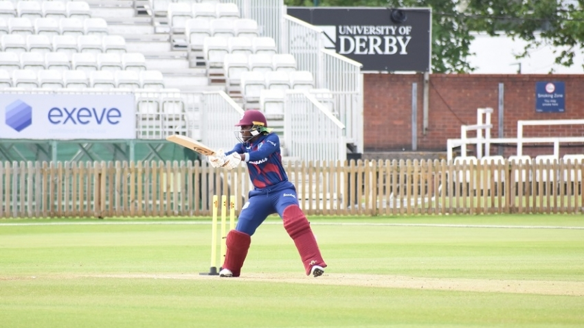 Stafanie Taylor smashes 71 to lead team to victory in warm-up squad match