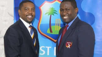 Dave Cameron (left) and Wavell Hinds